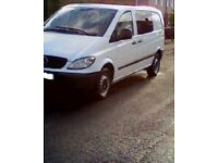07 mercedes vito 2 owners 116k excellent condition in and out long mot drives mint no rust nice van