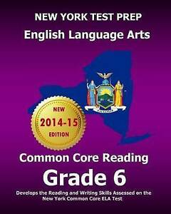 New York Test Prep English Language Arts Common Core Reading Grad 9781503109414