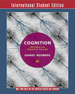 Cognition Exploring the Science of the Mind 6E International Student Edition+zap