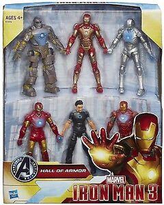 Hall of Armor IRON MAN action figure box set