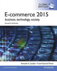 E-Commerce 2015 11E by Carol Guercio Traver, Kenneth C. Laudon (Paperback, 2015)