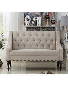 Christiansburg Tufted Standard Loveseat NEW ** 5 CORNERS FURNITURE **
