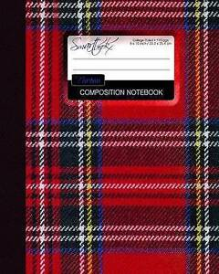 Tartan Composition Notebook: College Ruled Writer's Notebook for  by Smart Bookx