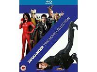 Zoolander & Zoolander No. 2! 2 Movie Collection! [Blu-ray]!