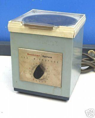 Beckman Spinco 152 Microfuge Centrifuge