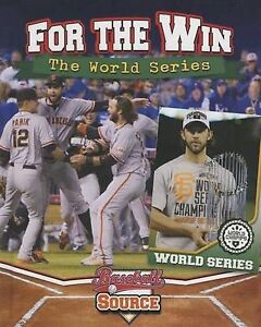 For the Win: The World Series by Winters, Jaime 9780778714774 -Hcover