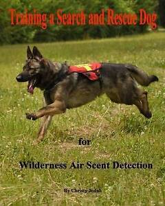 Training a Search and Rescue Dog: For Wilderness Air Scent by Judah, Christy