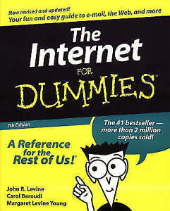Very Good, Internet For Dummies, Baroudi, Carol, Young, Margaret Levine, Levine,