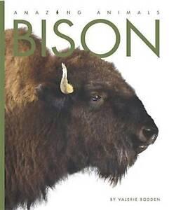 Bison by Valerie Bodden (Paperback / softback, 2013)