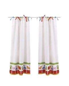 2 panels IKEA children's curtain (rod included)