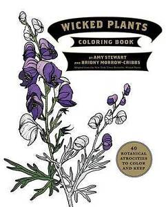 The Wicked Plants Coloring Book by Stewart, Amy -Paperback