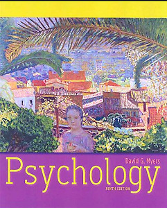 Psychology by Myers, 9th edition. Plus Study Guide.