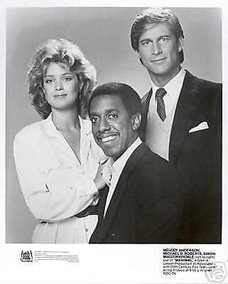 MANIMAL SIMON MACCORKINDALE ORIGINAL 1983 NBC TV PHOTO