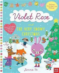 Violet Rose and the Very Snowy Christmas By Crow, Nosy -Paperback
