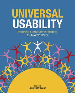 Universal Usability, Jonathan Lazar
