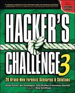 Hacker's Challenge 3, Pollino, David