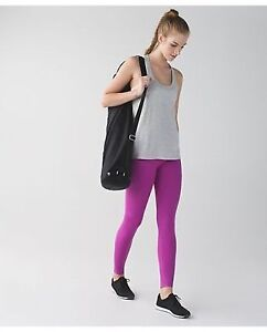 Lululemon Womens Ultra Violet Seamless High Rise Yoga Zone In Ti