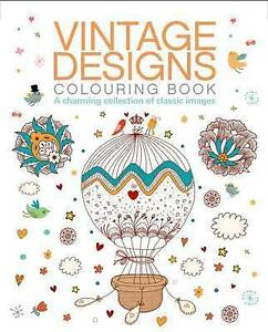 Vintage Designs Colouring Book by Arcturus Publishing (Paperback, 2015)