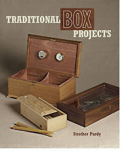 Traditional Box Projects, Strother Purdy, New Book