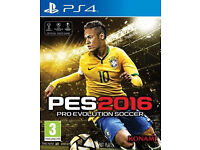 PES2016 for the PS4