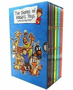 The Diaries of Robin's Toys - The Complete Collection 10 Book Set by Ken Lake