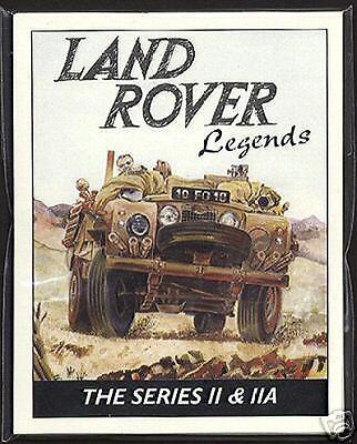 LAND-ROVER LEGENDS The Series II & IIA '58-71 Collectors Card Set -