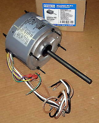 Fasco D7909 Ac Air Conditioner Condenser Fan Motor 14 Hp 1075 Rpm 230 Volts