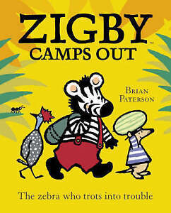 Good, Zigby Camps Out, Paterson, Brian, Book