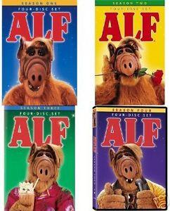 NEW Alf Complete Seasons 1-4 Bundle DVD