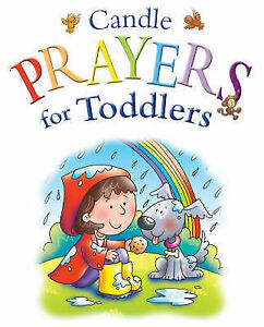 Candle-Prayer-for-Toddlers-Candle-Bible-for-Toddlers-Juliet-David-Used-Good