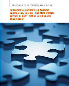 Fundamentals of Complex Analysis with Applications to Engineering, Science, and