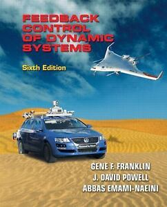 NEW - Feedback Control of Dynamic Systems (6th Edition)