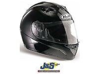HJC IS-16 MOTORCYCLE HELMET MOTORBIKE PLAIN GLOSS BLACK