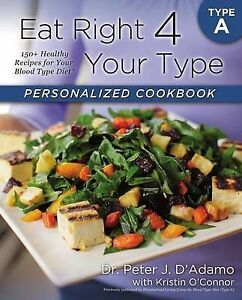 EAT RIGHT 4 YR TYPE A PERSONAL, 9780425269459