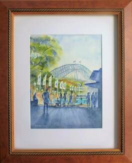 The Main Attraction Original Watercolour Di Cox