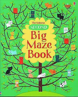 Second Big Maze Book (Doodle Books (Usborne Books)) by Clarke, - Big Maze