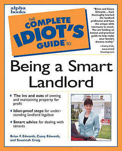 Complete-Idiots-Guide-to-Being-a-Smart-Landlord-by-Casey-Edwards-Brian