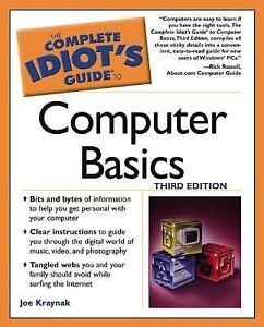 The-Complete-Idiots-Guide-to-Computer-Basics-3E-Kraynak-Joe-Acceptable-Book