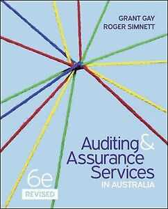 Auditing Assurance and services in australia