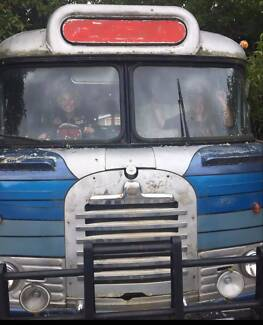 1960 Bedford bus motor home Airbnb accomodation