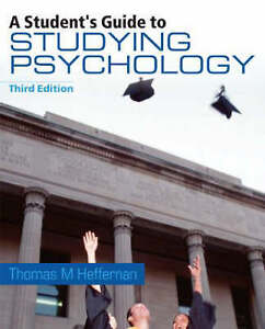 A Student's Guide to Studying Psychology, Heffernan, Thomas M.   Paperback Book