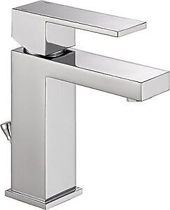 Delta 567lf Pp Modern Single Handle Bathroom Faucet With Drain