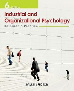 Organizational Psychology what is the most