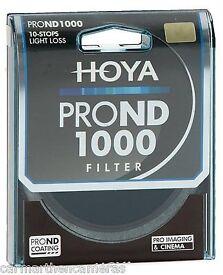 55mm Hoya ProND1000 10stop filter