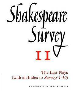NEW Shakespeare Survey With Index 1-10
