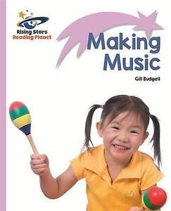 Budgell, Gill-Reading Planet - Making Music - Lilac: Lift-Off  BOOK NEW