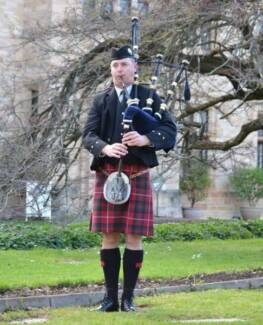 Bagpipes for Weddings Adelaide CBD Adelaide City Preview