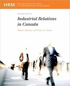 Industrial Relations in Canada 2nd Edition