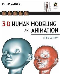3-D-Human-Modeling-and-Animation-by-Ratner-and-Peter-Ratner-2009-Paperback