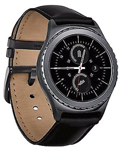 Mint Samsung Gear S2 Classic Smartwatch Leather(Black)_As is
